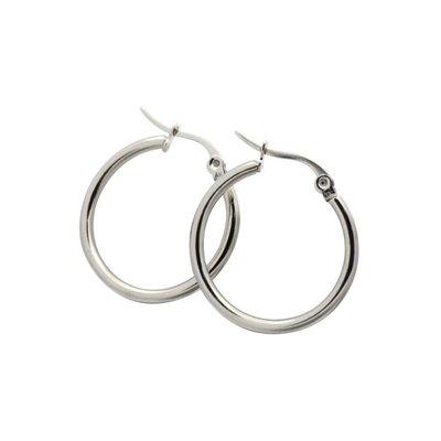 Boucle d'oreilles - Anneaux argent 24mm