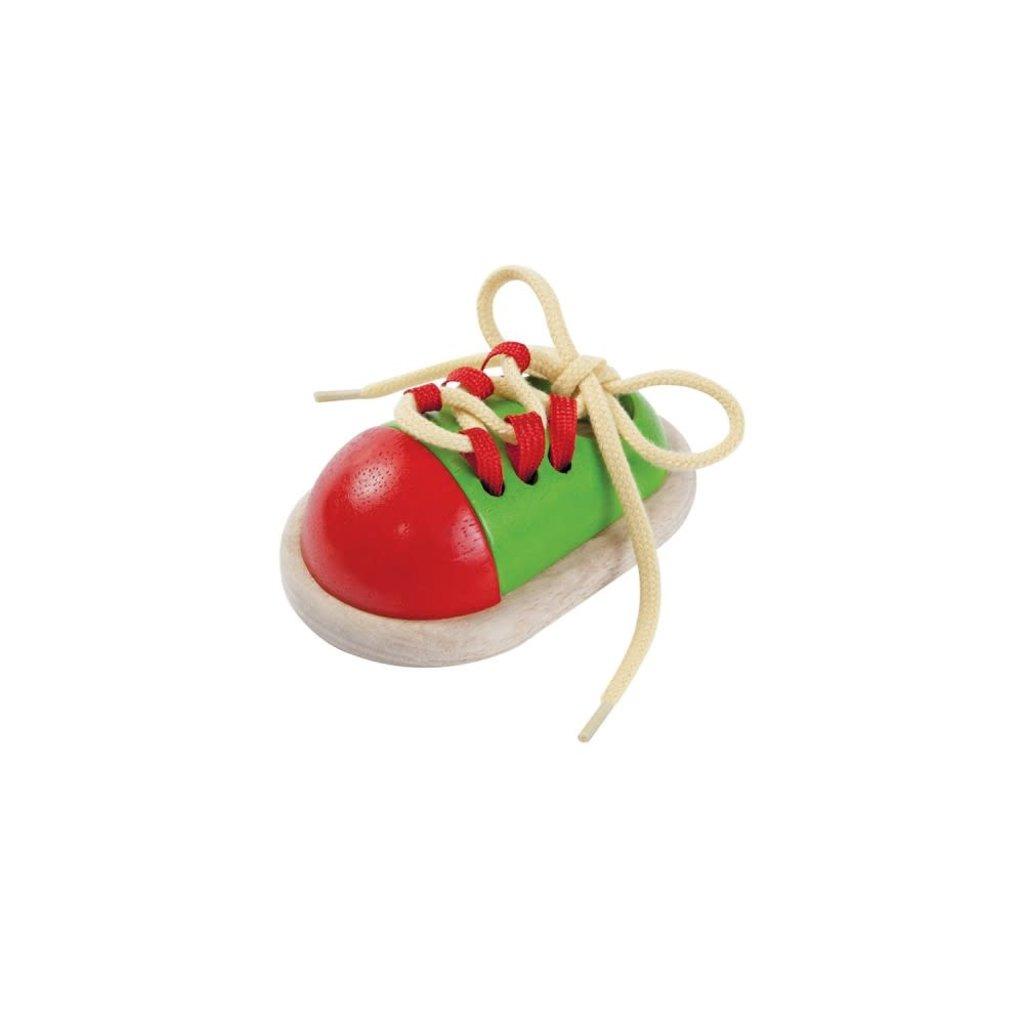 Plan Toys Jouet en bois écologiques - Chaussure à lacer