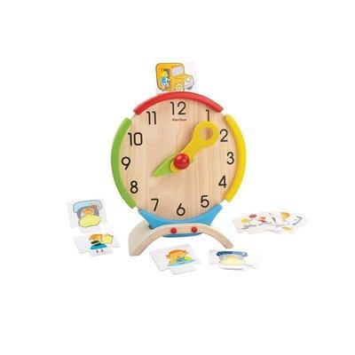 Plan Toys Jouet en bois écologiques - Horloge