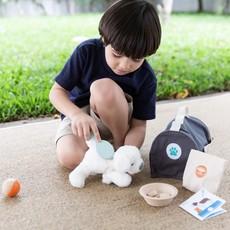 Plan Toys Jouet en bois écologiques - Trousse de soin pour mon animal de compagnie