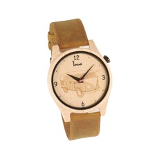 Inua Montre en bois- Happy Ride