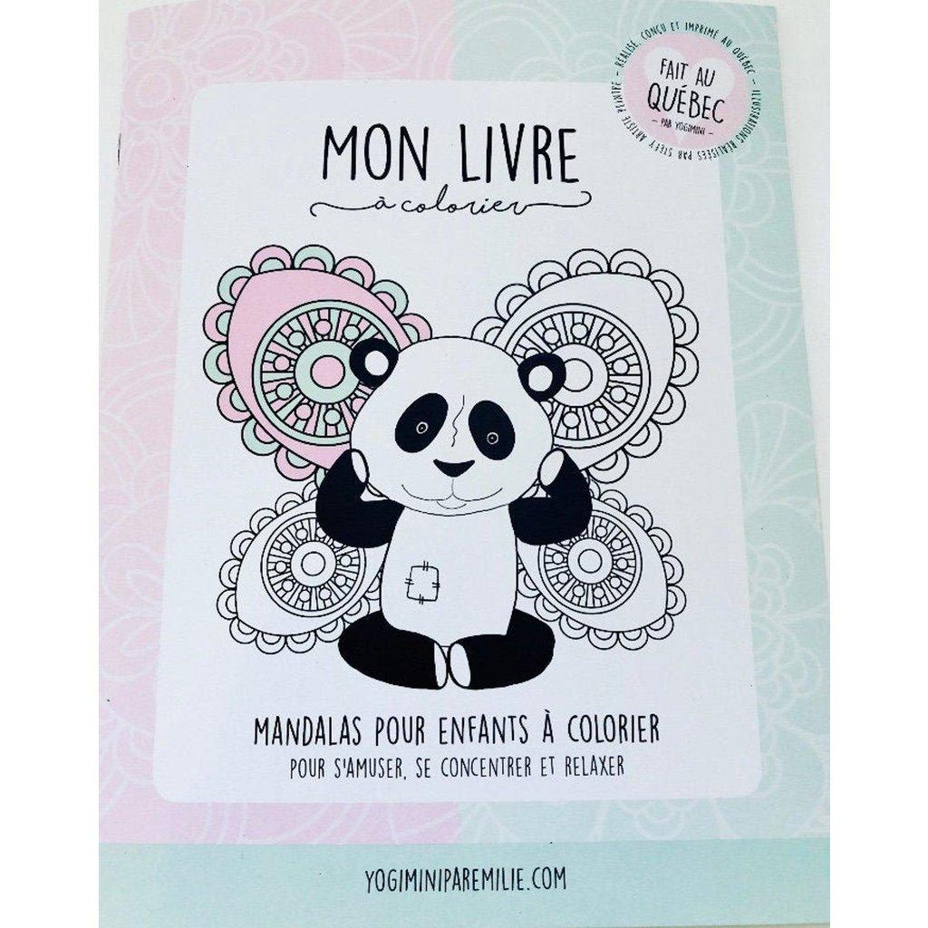 Yogimini Livre mandala à colorier