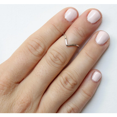 Neuf vingt cinq Bague mi-doigt - L'Adorable