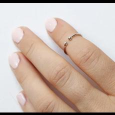 Neuf vingt cinq Bague mi-doigt - La Populaire