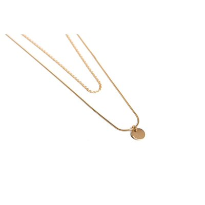 Twenty Compass Collier - Berawa Gold