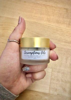 Scrumptious oils Exfo lèvres - Caramel citrouille épicée