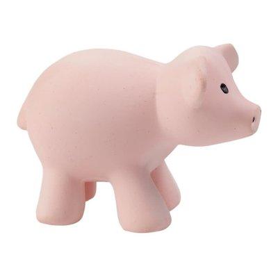 TIKIRI Jouet en caoutchouc naturel - Cochon
