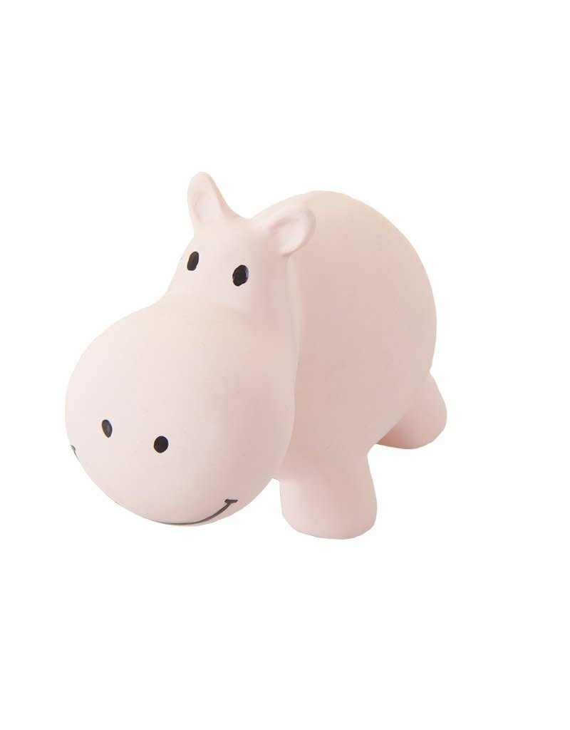 TIKIRI Jouet en caoutchouc naturel - Hippopotame