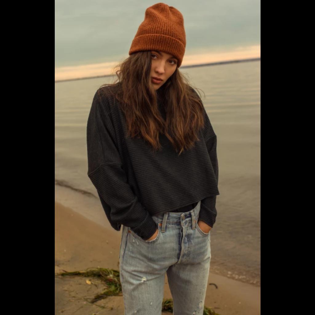 Dailystory clothing Sasha - Chandail de laine - Charcoal