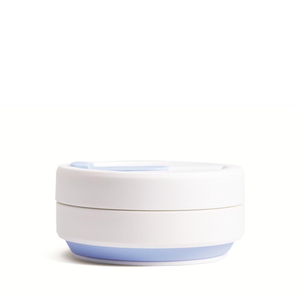Stojo Tasse rétractable - Bleu et blanc