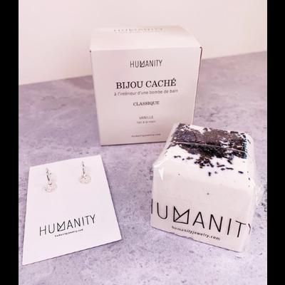 Humanity Bombe de bain avec bijou caché - Classique