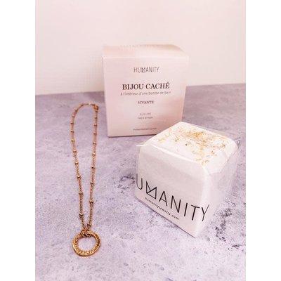 Humanity Bombe de bain avec bijou caché - Vivante
