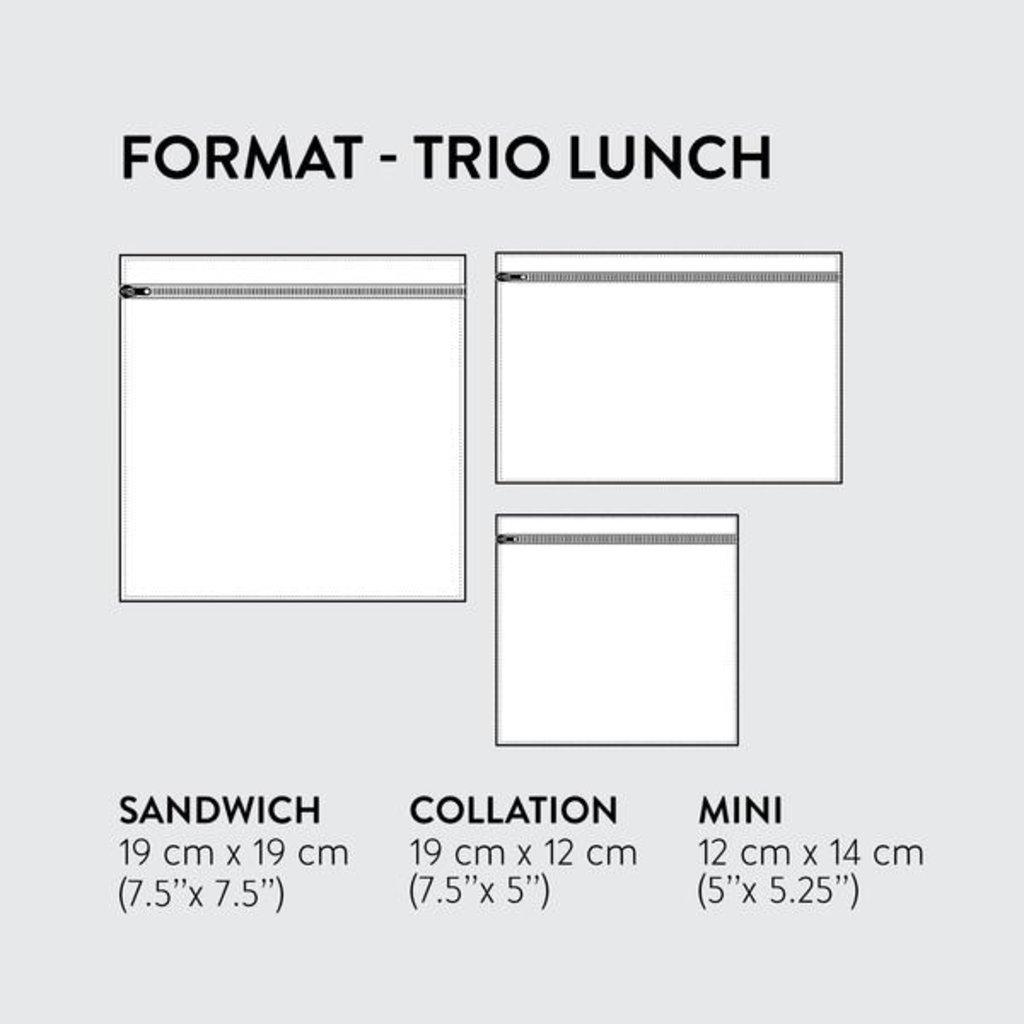 DemainDemain Trio Lunch - Jardin sauvage