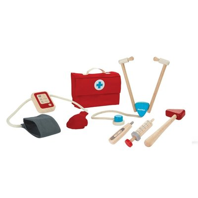 Plan Toys Jouet en bois écologiques - Mallette de docteur