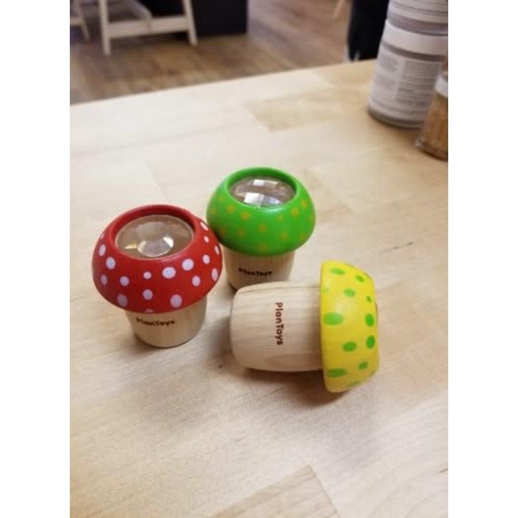 Plan Toys Jouet en bois écologiques - Champignon kaléidoscope