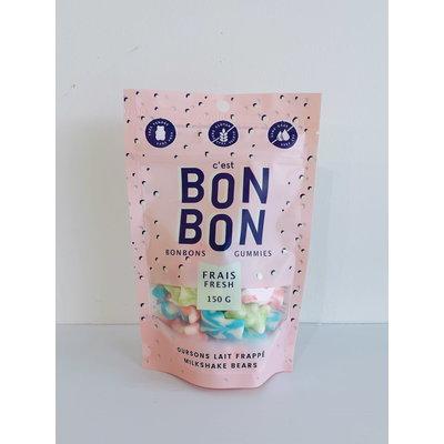 C'est bonbon Bonbon - Oursons tourbillon de lait frappé