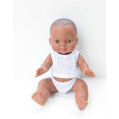 Paola Reina Poupée Bébé en pyjama - William