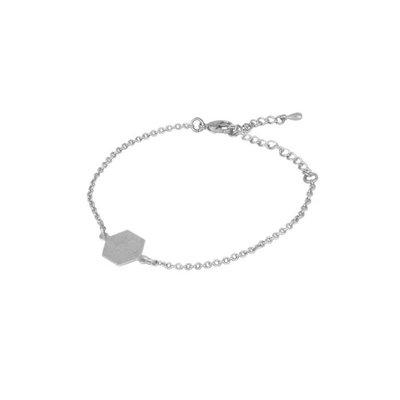 Lost & Faune Bracelet - Chaînette hexagone