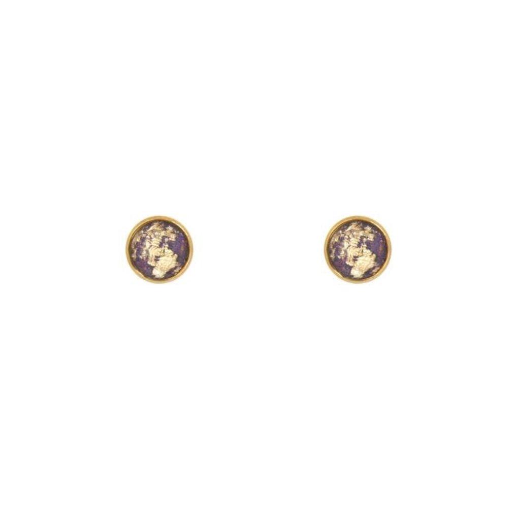 Lost & Faune Boucles d'oreilles - Feuilles d'or