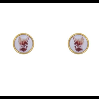 Lost & Faune Boucles d'oreilles à tige - Renard