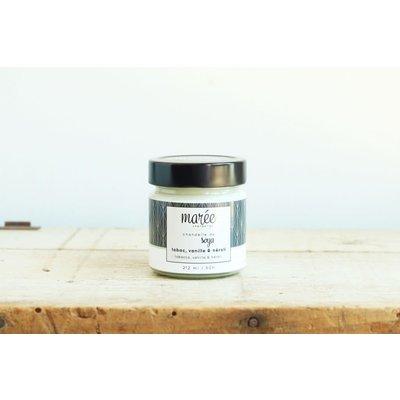 Les produits Marée Chandelle - Tabac vanille et neroli