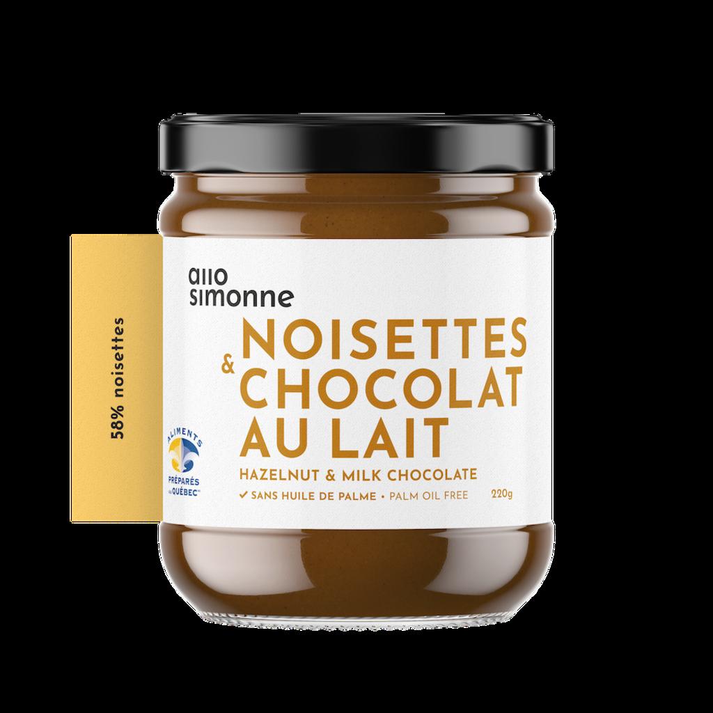 Allo Simonne Tartinade - Noisette Chocolat au lait