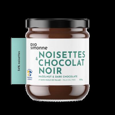 Allo Simonne Tartinade - Noisette Chocolat Noir
