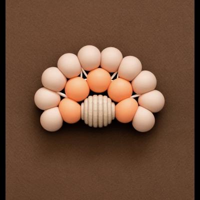 Minika Arc-en-ciel de dentition - Blush/Cantaloup