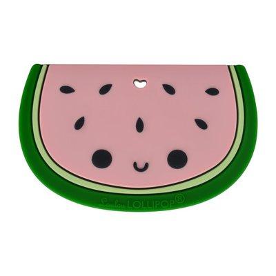 Loulou lollipop Jouet de dentition en silicone - Melon d'eau