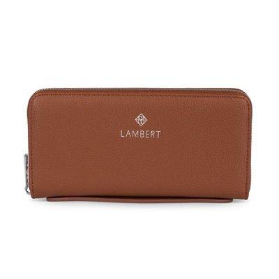 Lambert Lambert Meli - Porte-feuille Tan