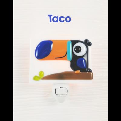 veille sur toi Veilleuse - Perroquet Taco