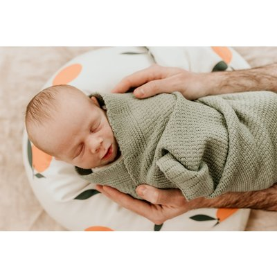 Maovic Coussin d'allaitement multifonctions - Mandarine