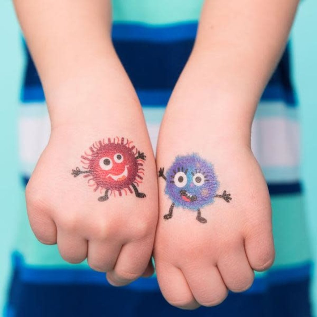 Picotatoo Tatouage - l'attaque de microbes
