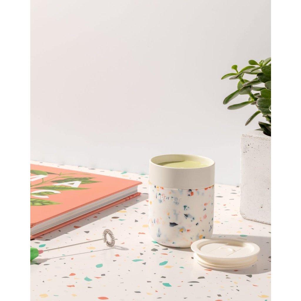 W&P porter Tasse céramique - Blanc Terrazzo 12 oz