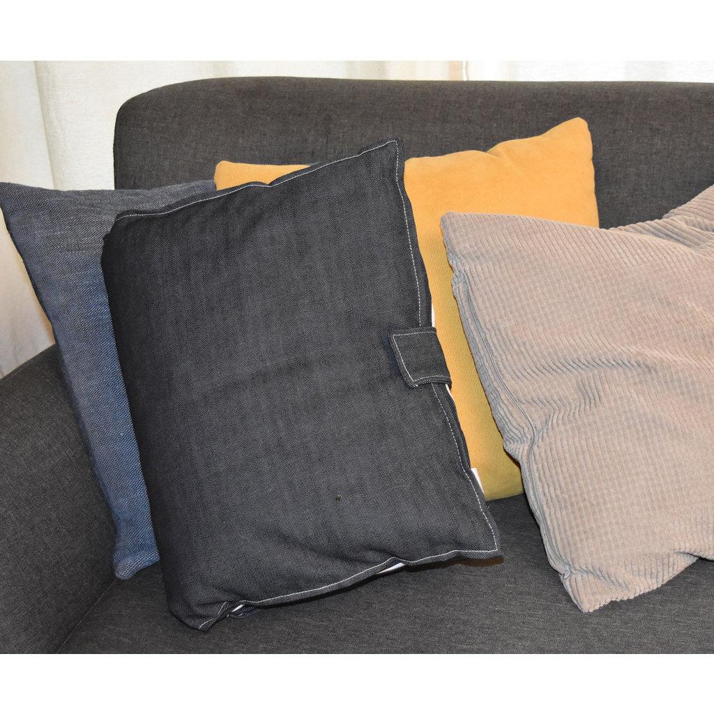 Oisillon Coussin livre Jeans avec thématique