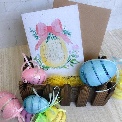 Kit de Survie Carte ensemencée - Happy Spring Egg