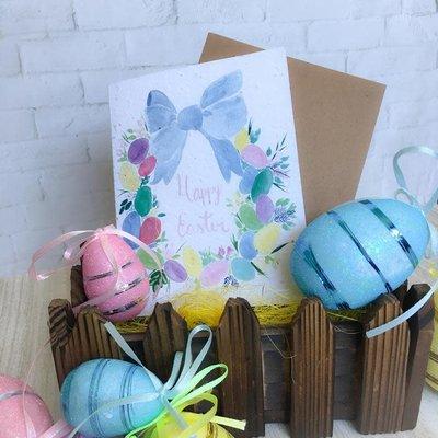 Kit de Survie Carte ensemencée - Happy Easter Eggs