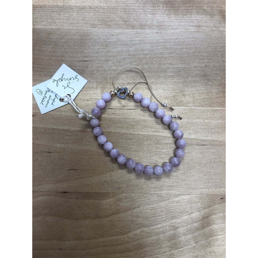 Si Simple Bracelet - Kunzite