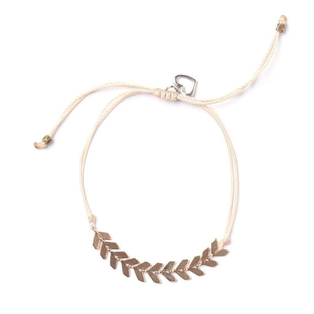 Si Simple Bracelet - Leaf