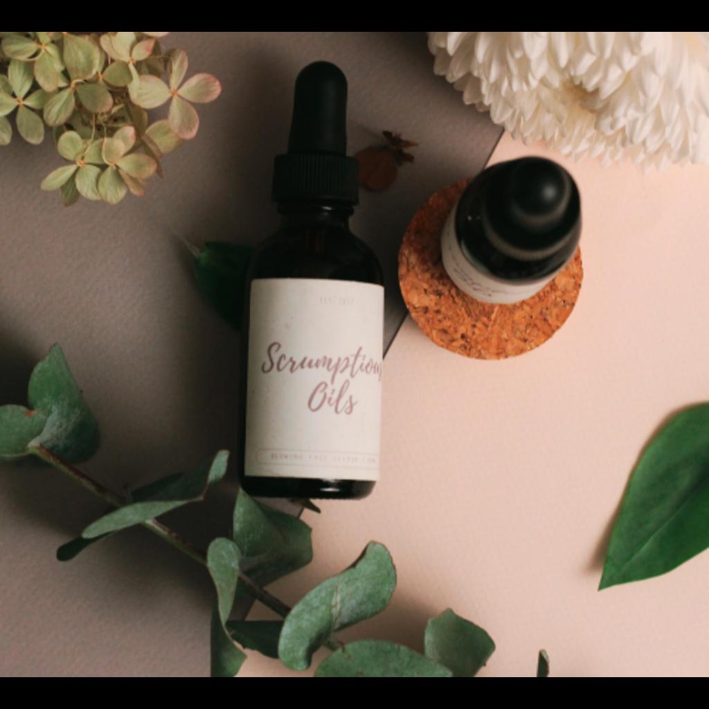 Scrumptious oils Le Glowing Elixir - Élixir pour le visage 50 ml