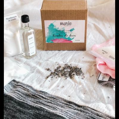 Les produits Marée Ensemble créatif - Bombes de bain