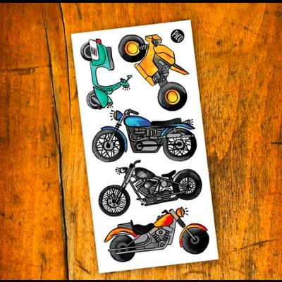 Picotatoo Tatouage - Moto