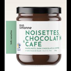 Allo Simonne Tartinade - Noisette, chocolat noir et café