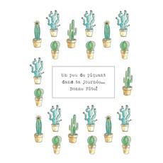 Stéphanie Renière Carte - Un peu de piquant dans ta journée...