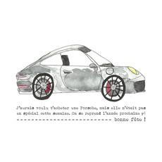 Stéphanie Renière Carte - J'aurais voulu t'acheter une Porsche...