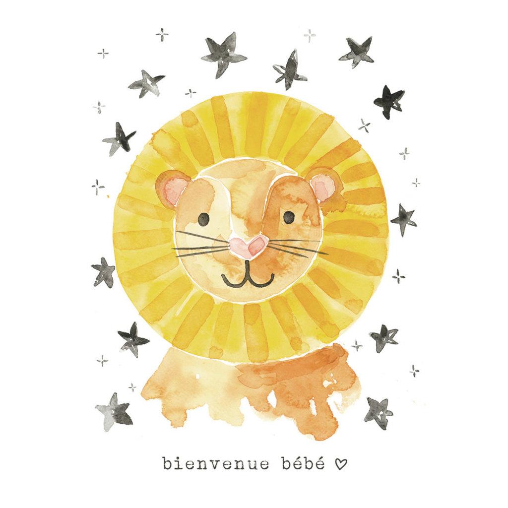 Stéphanie Renière Carte - Bienvenue bébé