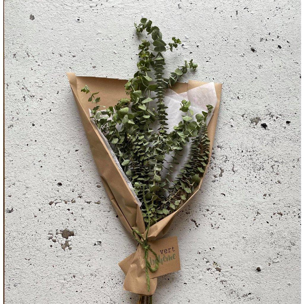 Vert Bohème Bouquet d'eucalyptus