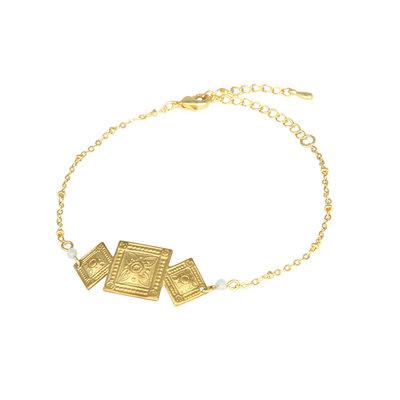 Lost & Faune Bracelet - Losange vintage