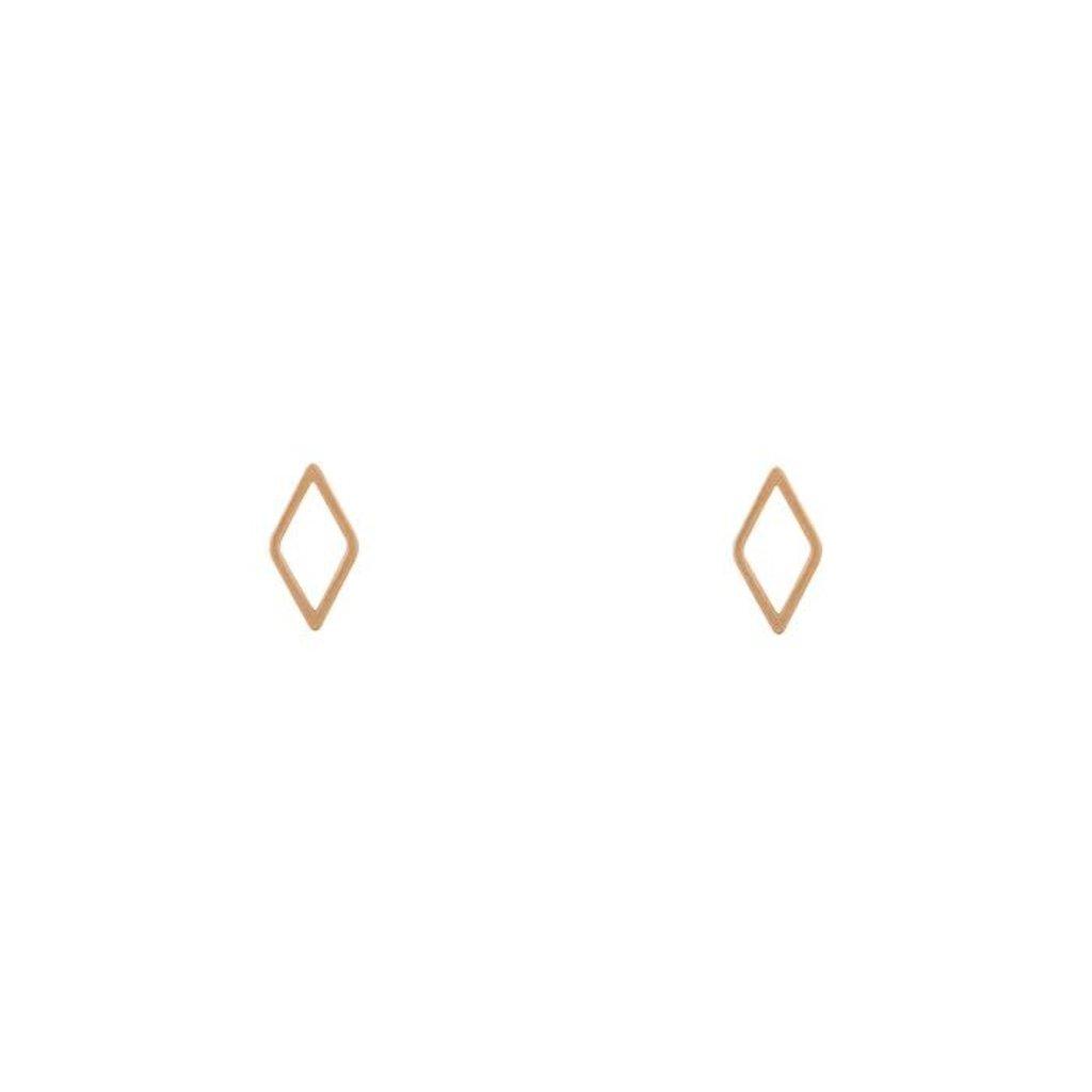 Lost & Faune Boucles d'oreilles - Losanges