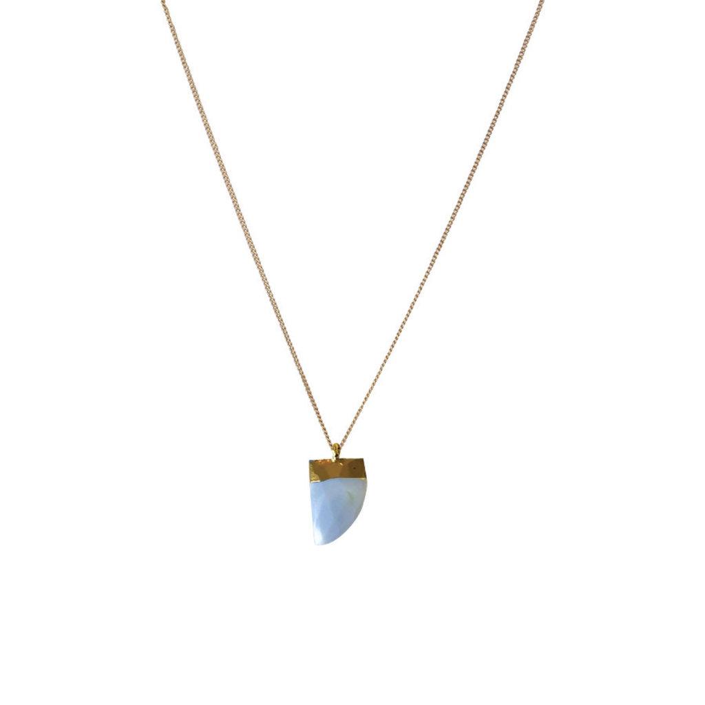 Lost & Faune Collier - Pendentif pierre semi-précieuse